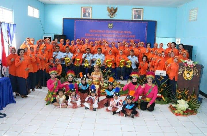 Peringatan HUT Ke-63 PIA Ardhya Garini di Lanud Haluoleo