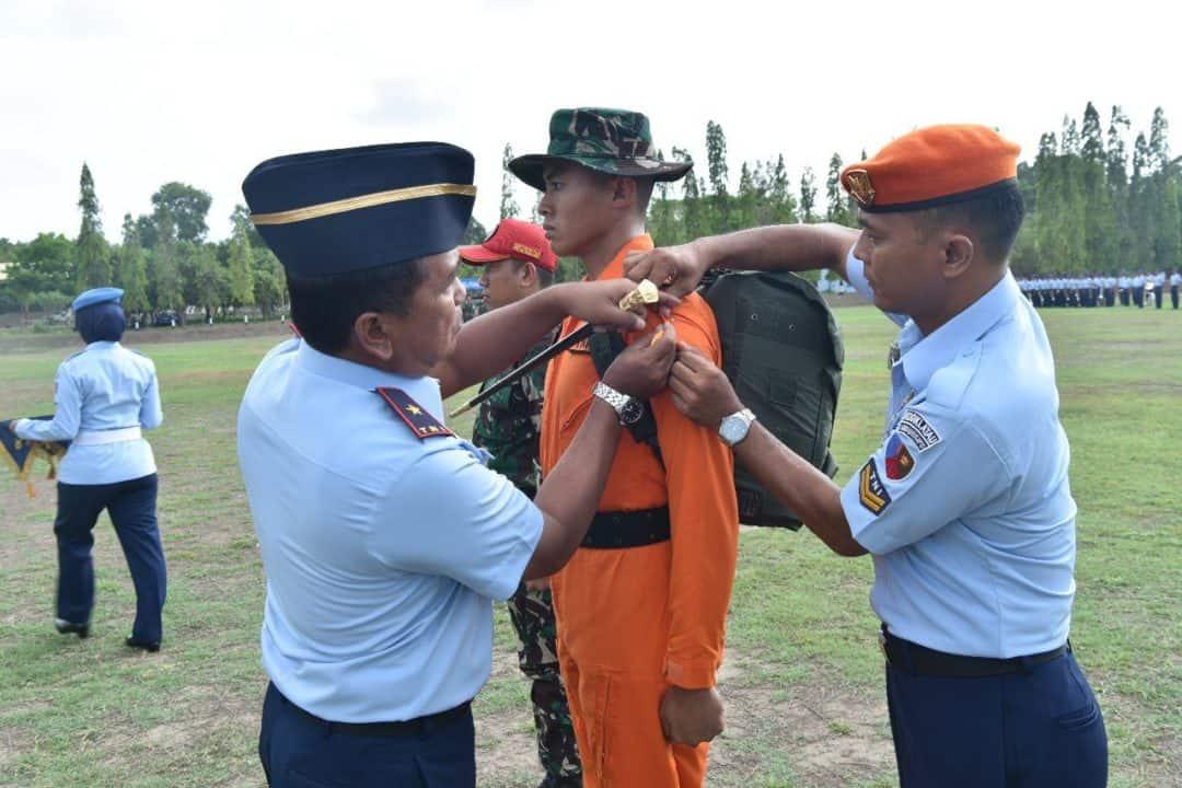 Danlanud Adisutjipto Buka Latihan Survival Dasar Siswa Sekbang TNI Terpadu 98