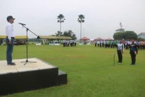 Danlanud Atang Sendjaja Resmi Buka Tournament Gateball 2019