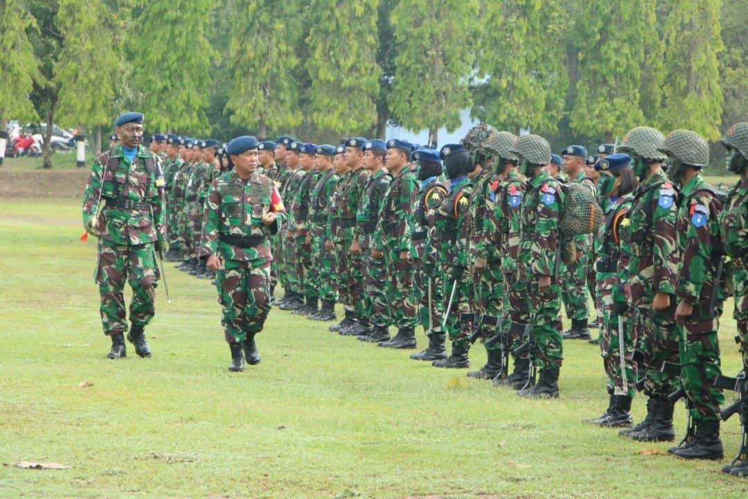 Danlanud Adisutjipto Buka Latihan Prayudha Siswa Semaba PK Wanita TNI AU Angkatan 44