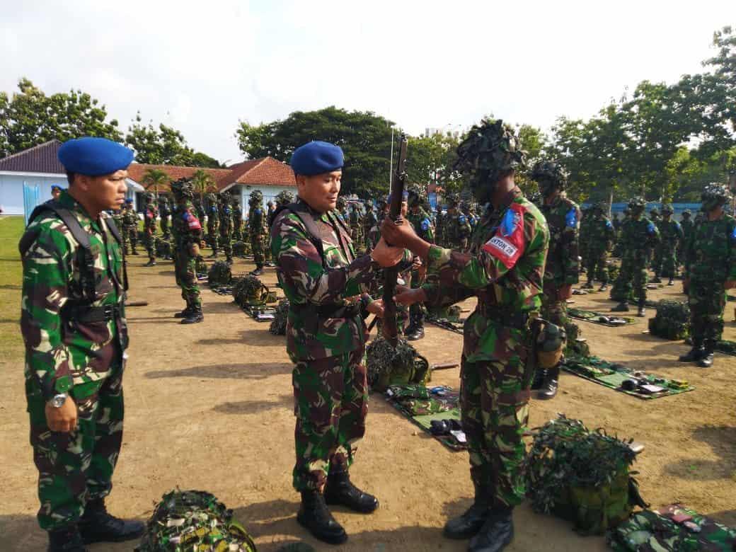 Danlanud Adi Soemarmo Buka Latganda Semaba PK Pria TNI AU Angkatan Ke-44