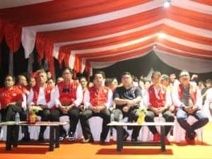 Danlanud Sam Ratulangi Hadiri Pembukaan North Sulawesi Christmas Festival (NSCF) 2019