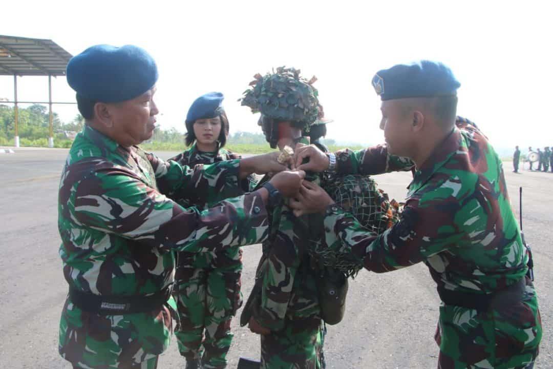 Upacara Penutupan Latihan Prayudha Siswa Semaba WARA Angkatan 44