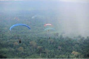 Pengukuhan Pengurus Fasi Dan Peresmian Lapangan Paralayang Gunung Es Kabupaten Kutai Barat