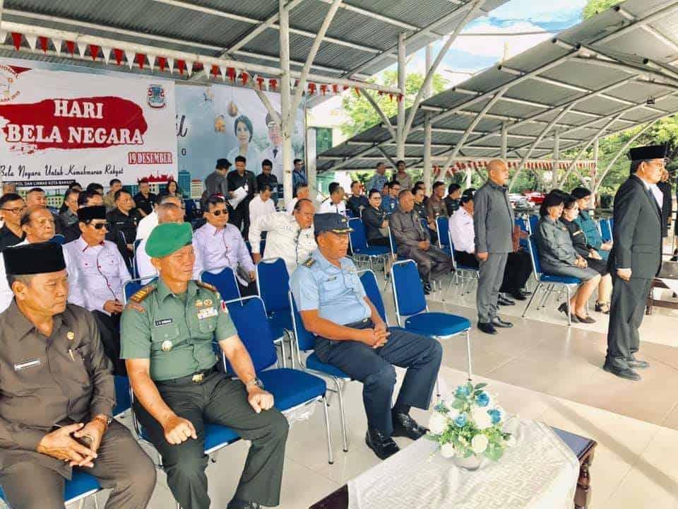 Lanud Sam Ratulangi Mengikuti Upacara Hari Bela Negara