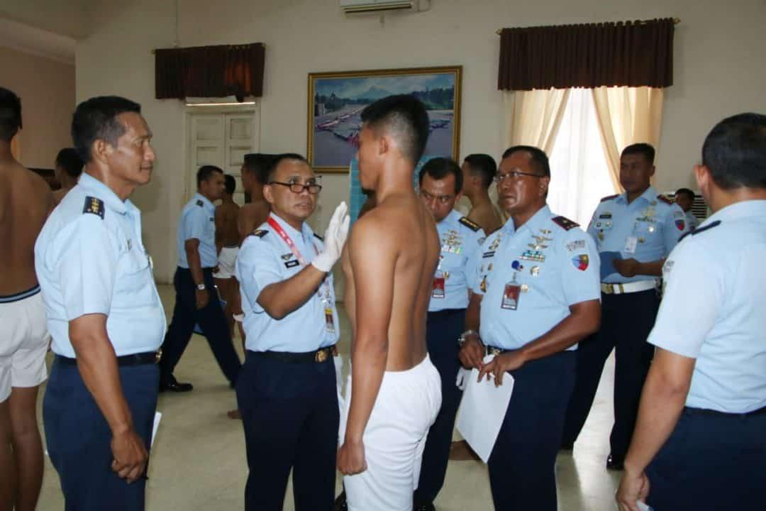 Lanud Adisutjipto Gelar Sidang Pantukhirda Bintara PK Pria Tahun 2019