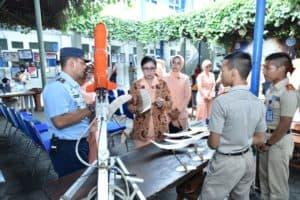 Ketua Yasarini Cabang Lanud Adisutjipto buka kegiatan PJBL dan Tutup Kegiatan Diksar SMK Penerbangan