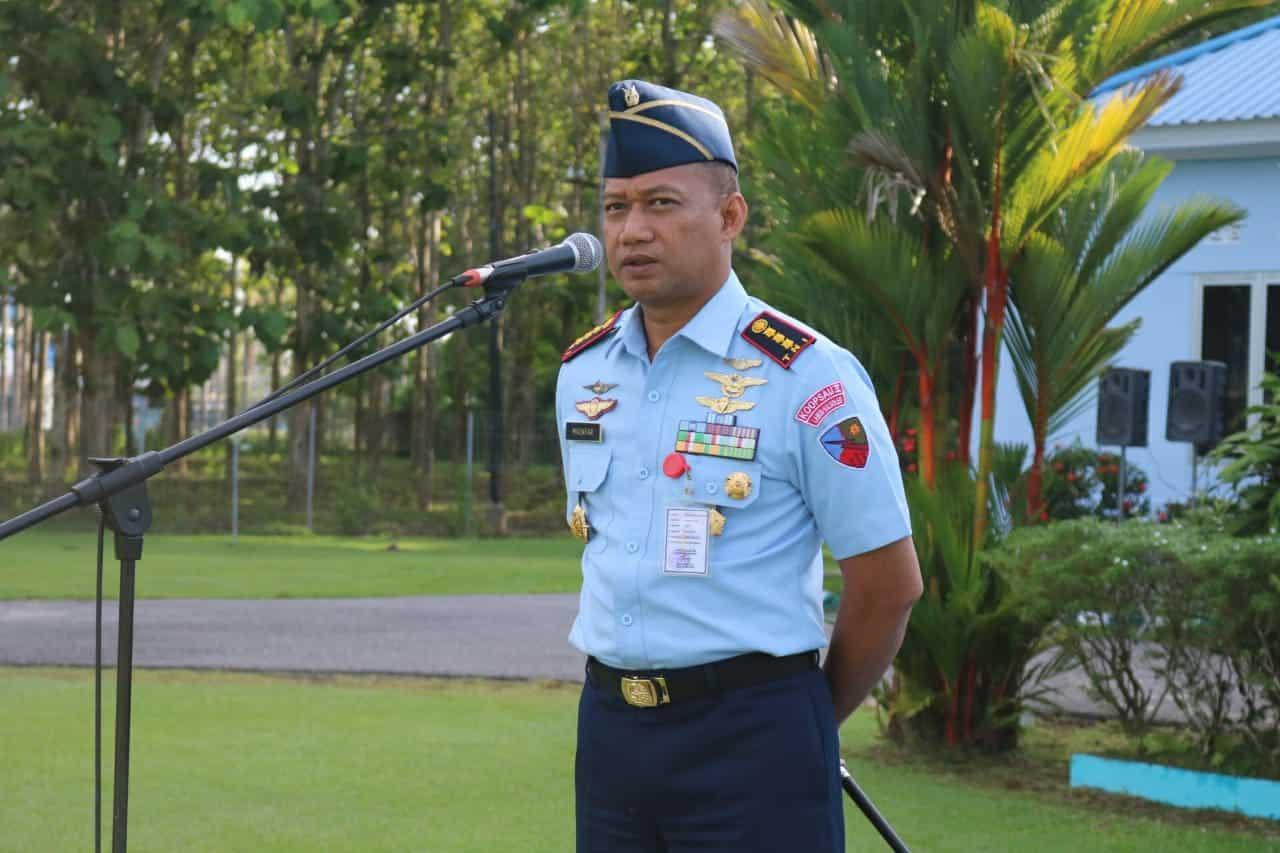 Danlanud Haluoleo Jadi Irup Upacara Bendera di Minggu Terakhir 2019