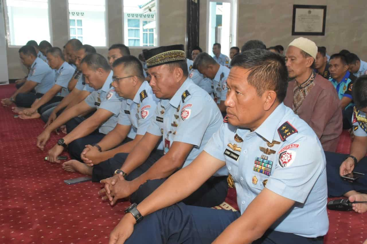 Pangkoopsau II Menghadiri Acara Doa Bersama Menyambut Tahun Baru 2020