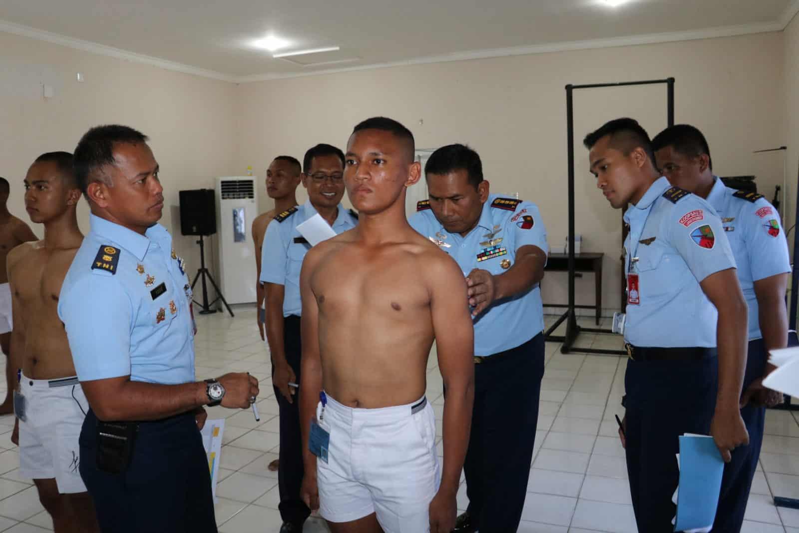 Danlanud Dhomber Pimpin Sidang Pantukhir Daerah Casis Bintara TNI AU