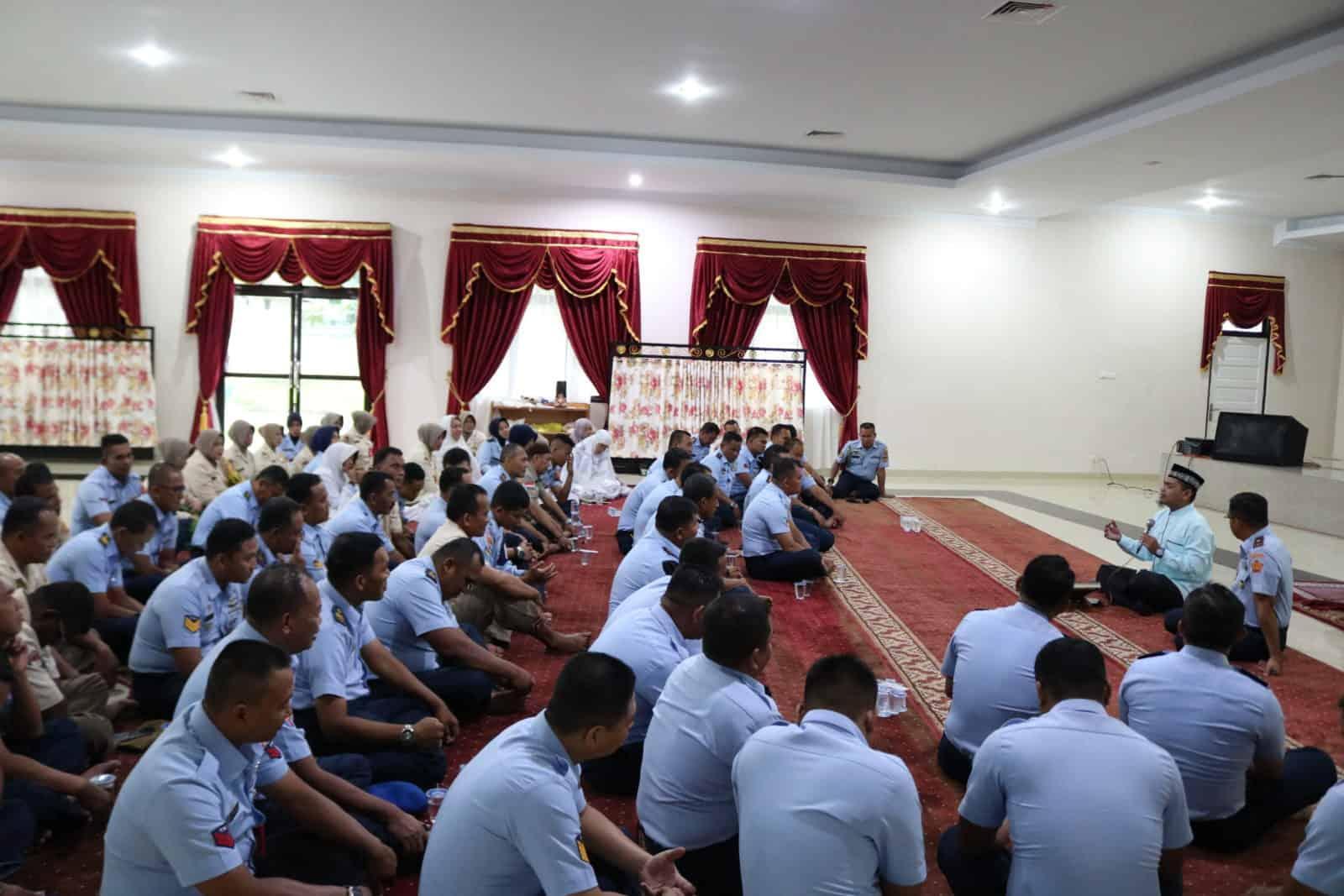 Personel Kosekhanudnas III Tingkatkan Kualitas Iman Melalui Pembinaan Rohani
