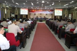 Panglima Kosekhanudnas III Hadiri Rakor Lintas Sektoral Lilin Toba 2019