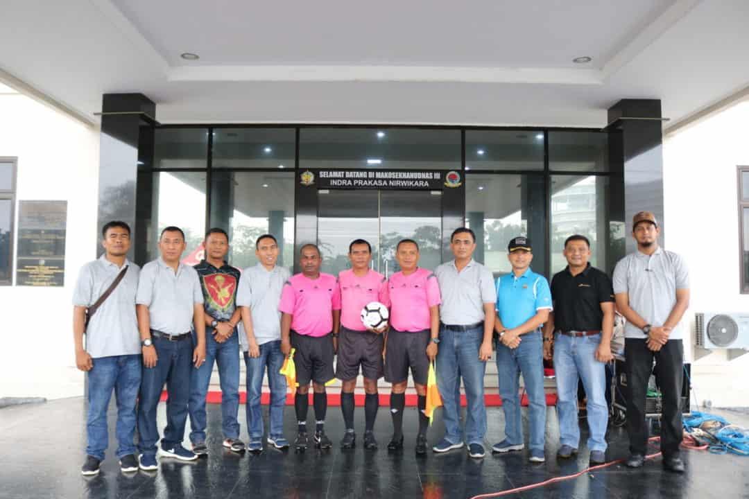 Pembukaan Pangkosekhanudnas III Cup IV Tournament Sepak Bola Old Crack U-45