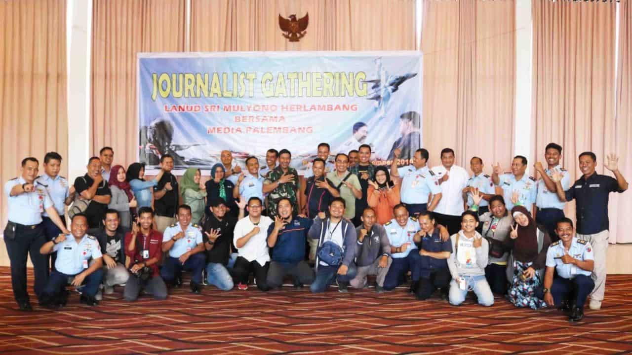 "Lanud SMH Gelar ""Journalist Gathering 2019"""