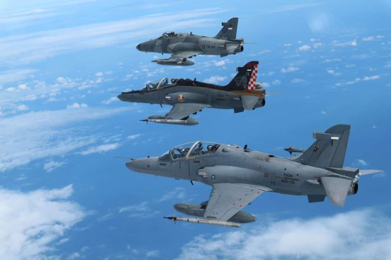 Angkatan Udara Malindo, Lakukan Patroli Amankan Udara Selat Malaka