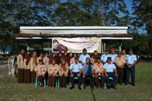 Komandan Lanud Buka Perkemahan Wajib SMP 7 di Lanud Iskandar