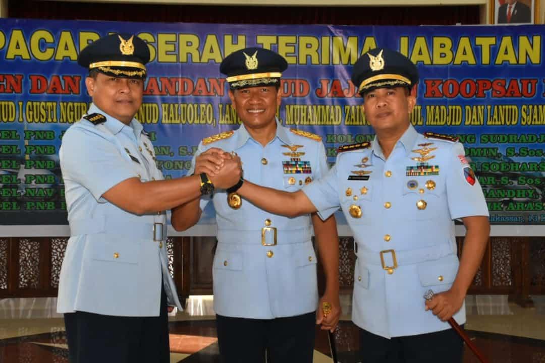 Kolonel Pnb M. Taufiq Arasj, S.Sos. Jabat Komandan Lanud Sjamsudin Noor Banjarmasin