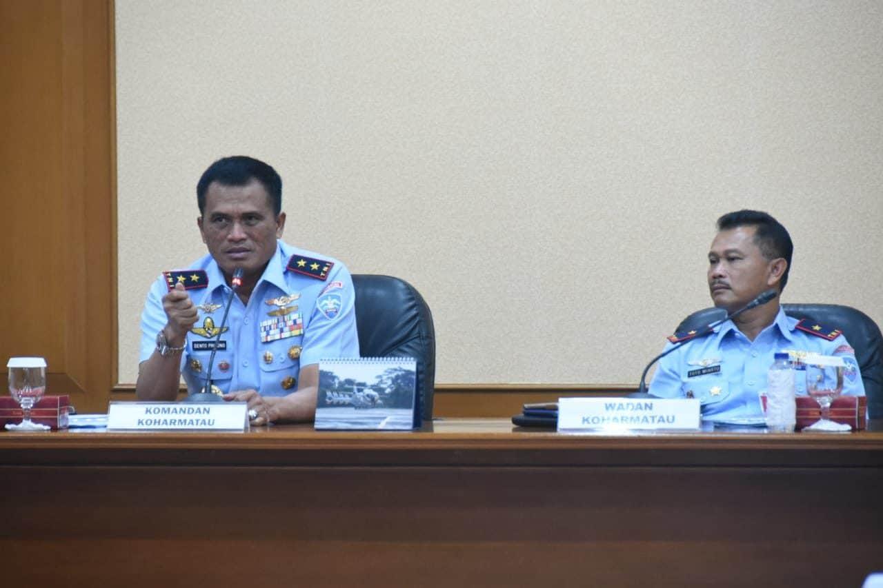 Dankoharmatau : Komandan Harus Turun ke Lapangan dan Melekat kepada Prajurit