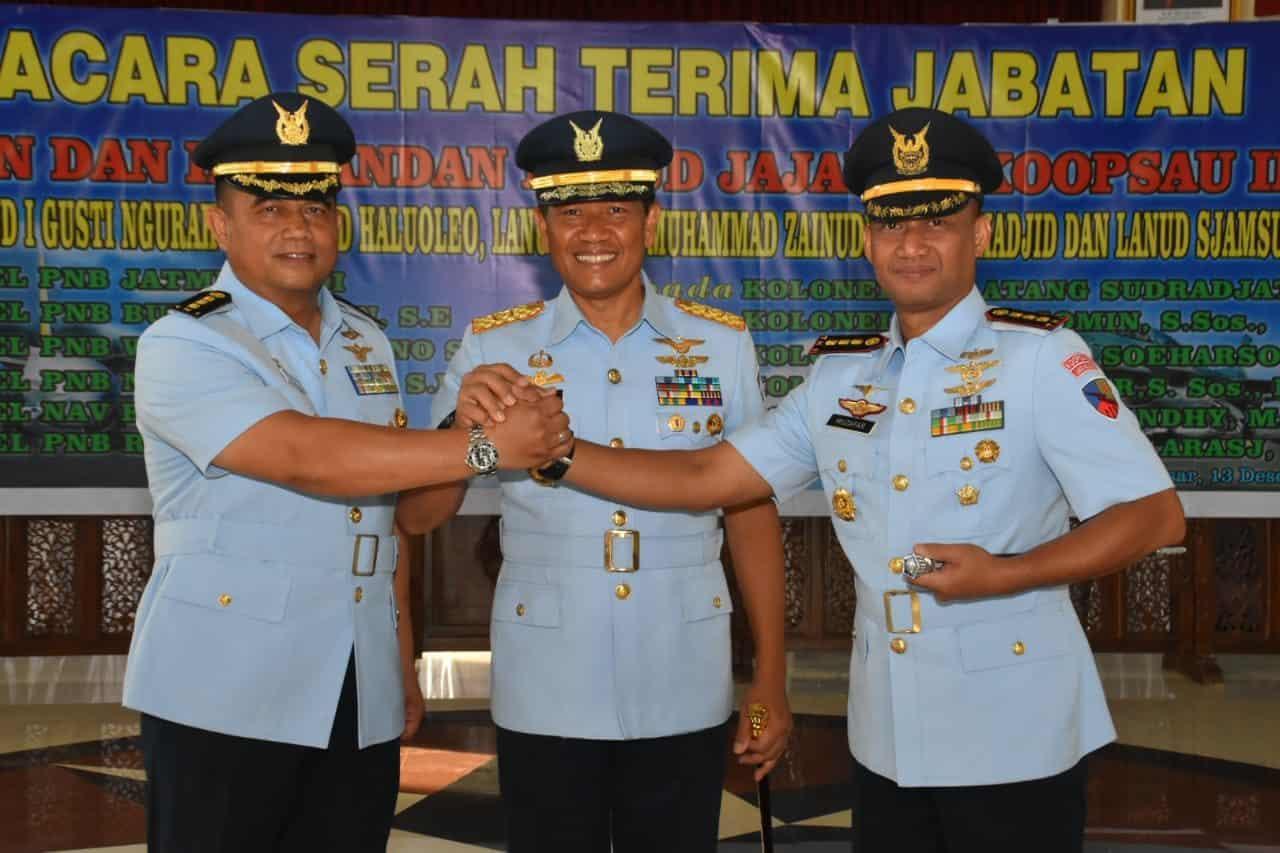 Kolonel Pnb Muzafar, S.Sos., M.M. Jabat Komandan Lanud Haluoleo