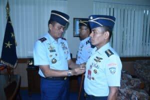 Kolonel Tek Udin Wahyudin Menjabat Staf Sahli Airframe Koharmatau.