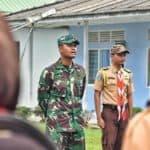 Saka Dirgantara Lanud RHF Gelar Perkemahan dan Tradisi Pengambilan Badge