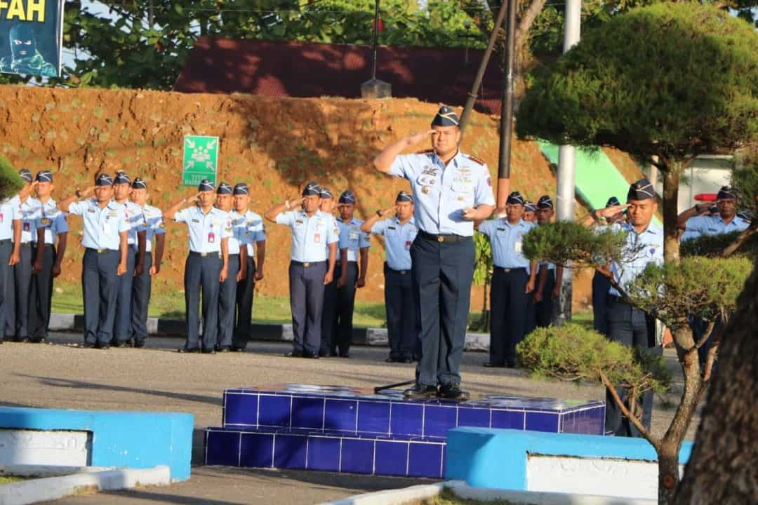 Kolonel Nav Medi Rachman, S.E. MBA Avi Mgt, MMOASc, PhD, Pimpin Upacara Hari Ibu Ke-91 Di Mako Lanud Sutan Sjahrir