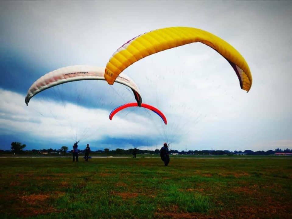 Diklat Paralayang Aceh Intensifkan Praktek Lapangan