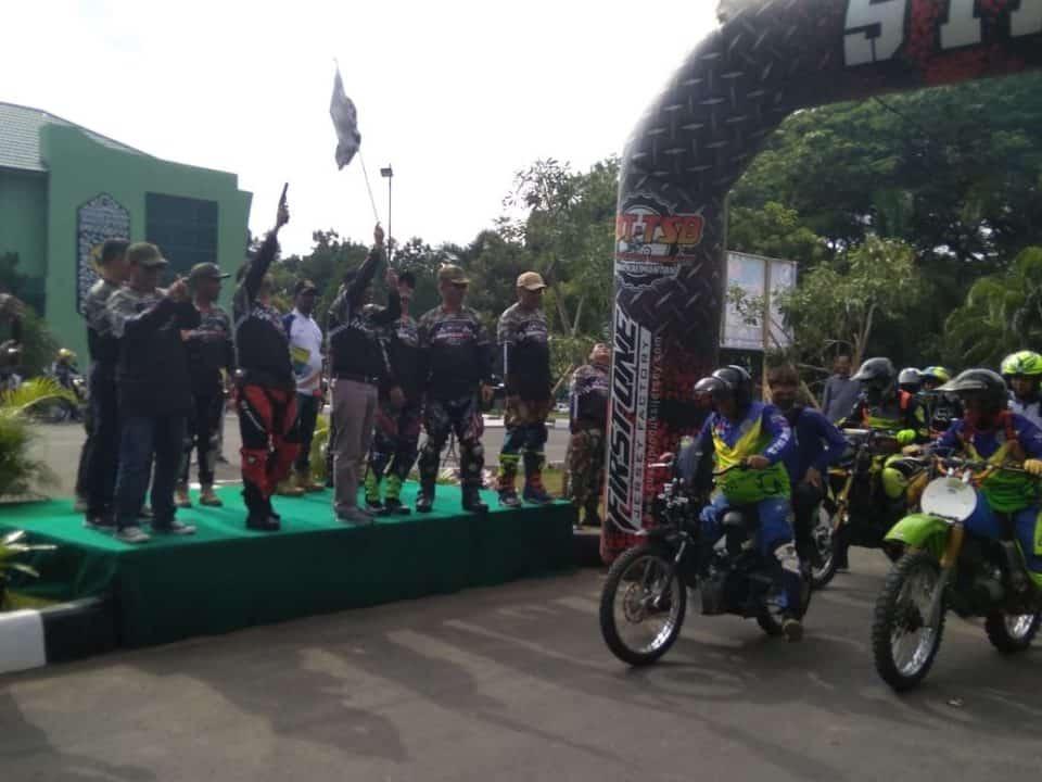 Komandan Lanud Sjamsudin Noor Hadiri One Day Trail wiratama MX 2020 di Yonif 623/BWU Banjarbaru
