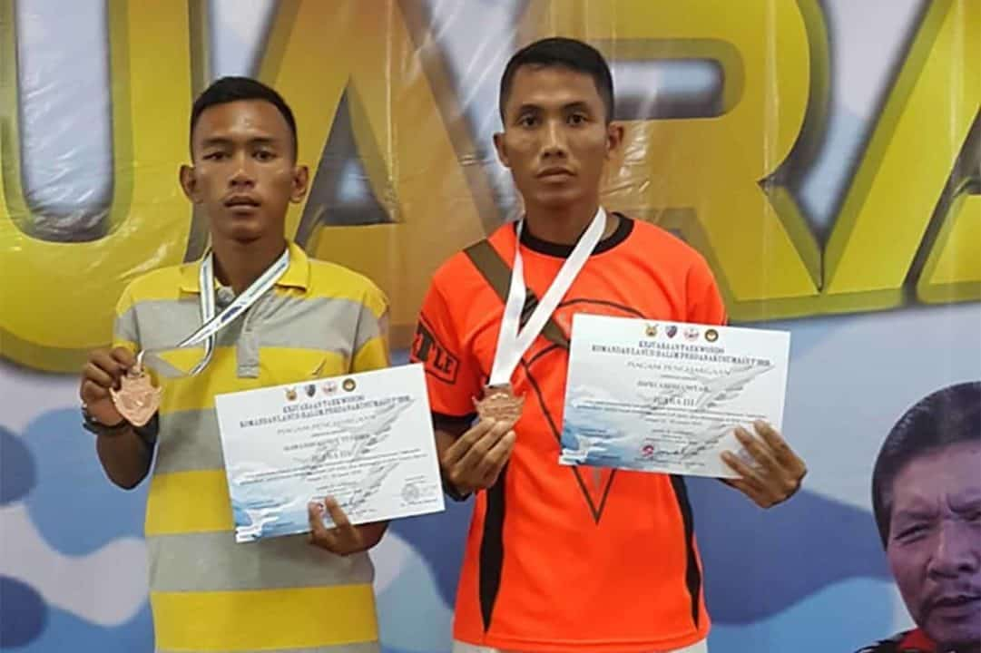 Petarung Yonko 461 Paskhas Sabet Medali Taekwondo Danlanud Halim
