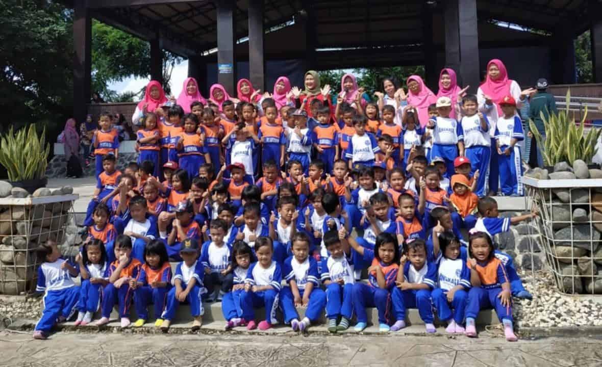 Kegiatan Outing Class PAUD Terpadu Angkasa I Lanud Sjamsudin Noor