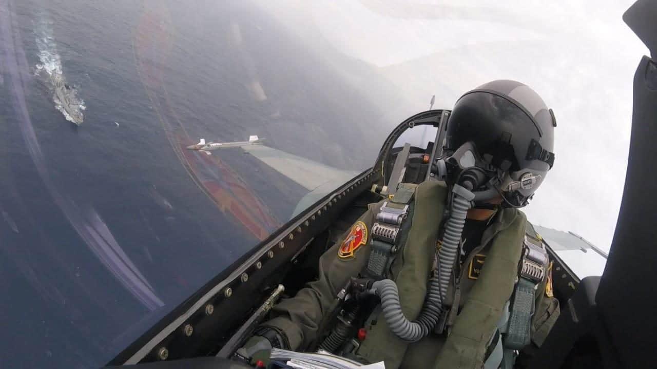 Danskadud 16 Pimpin Operasi Patroli Udara Lintas Elang