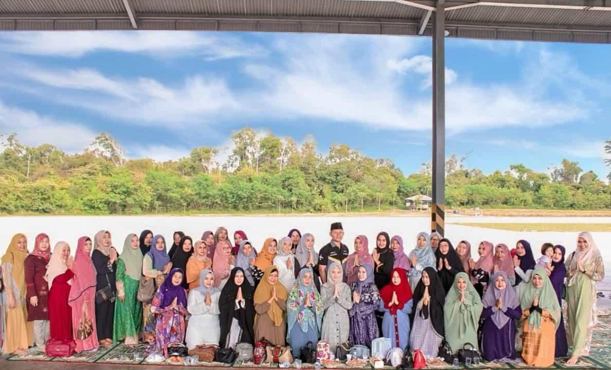 Ny.Vina Fardinal, Rumah Tangga Harmonis akan Perkuat Silaturahmi