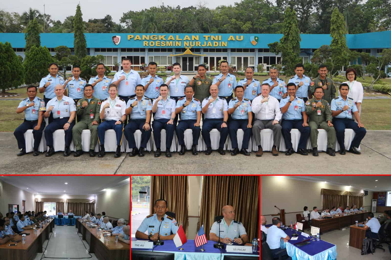 Danwing 6, Perkuat Persahabatan dan Kerjasama antara TNI AU dan U.S. PACAF