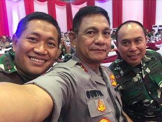 Pangkoopsau II Mengikuti Rapim TNI-Polri