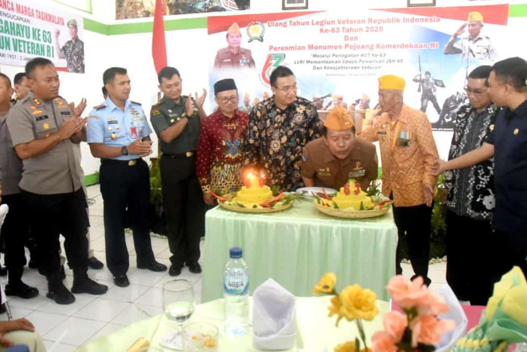 DANLANUD WIRIADINATA MENGHADIRI PERINGATAN HUT LEGIUN VETERAN REPUBLIK INDONESIA (LVRI) KE-63