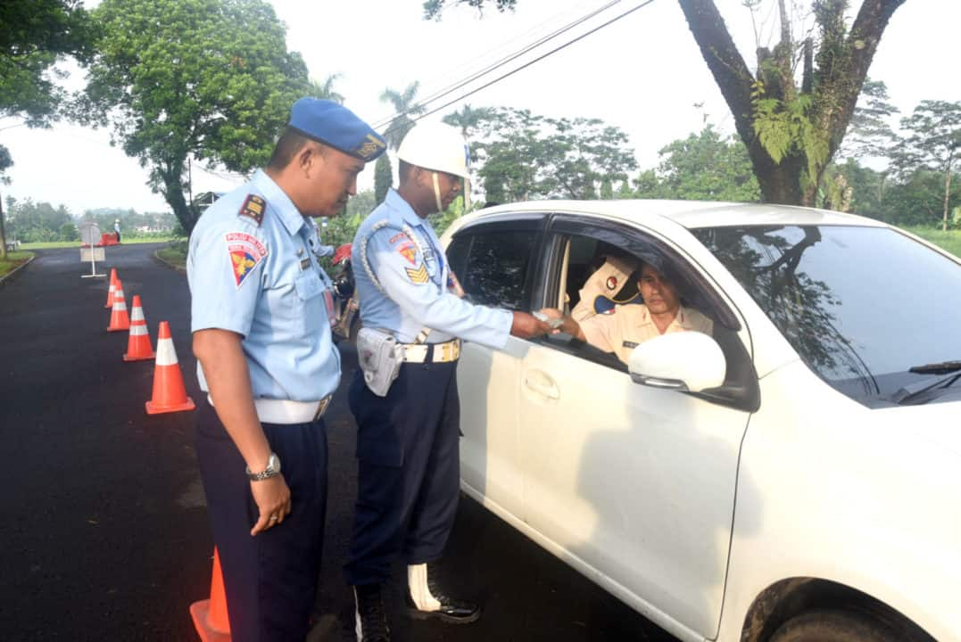 Gaktib meningkatkan disiplin prajurit Lanud Wiriadinata