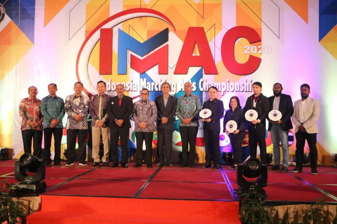 Danwing 6 Lanud Rsn, hadiri Lounching Dan Gala Dinner IMAC 2020