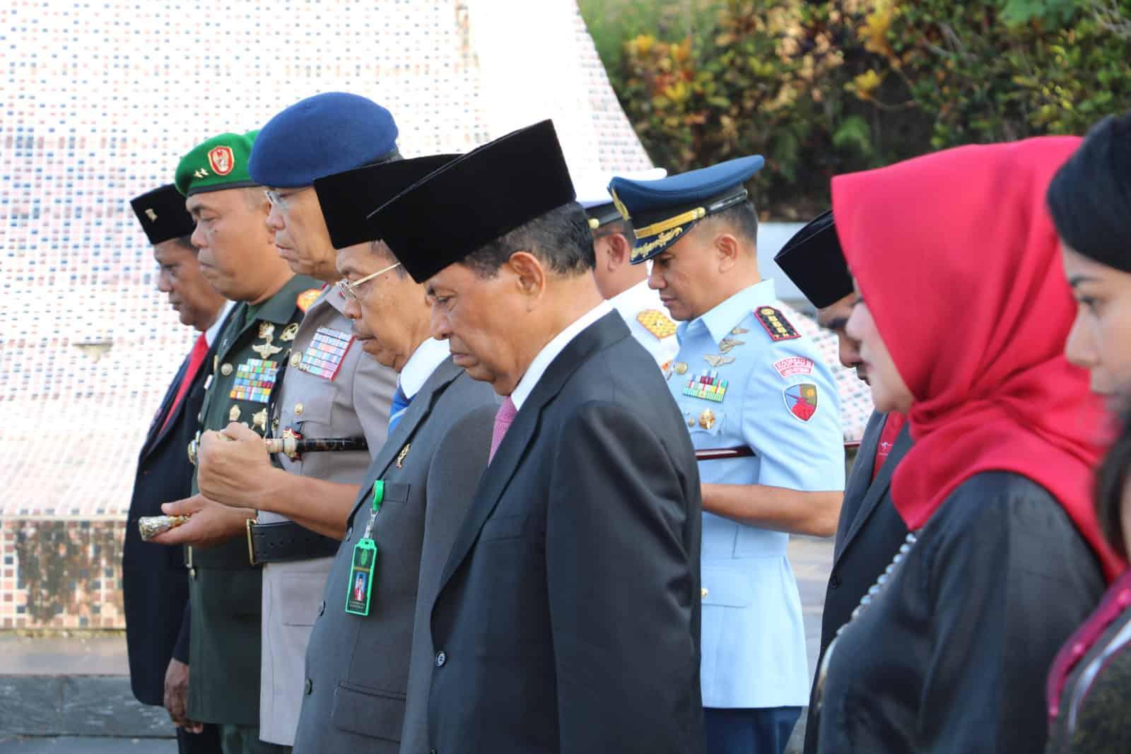 Danlanud Pattimura Menghadiri Upacara Peringatan Hari Pahlawan Martha Christina Tijahahu Ke-202