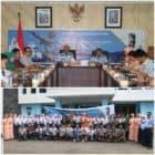 Danlanud Soewondo Sosialisasikan PPDB SMA Pradita Dirgantara Pada 5 Sekolah Menegah Pertama Favorit di Medan