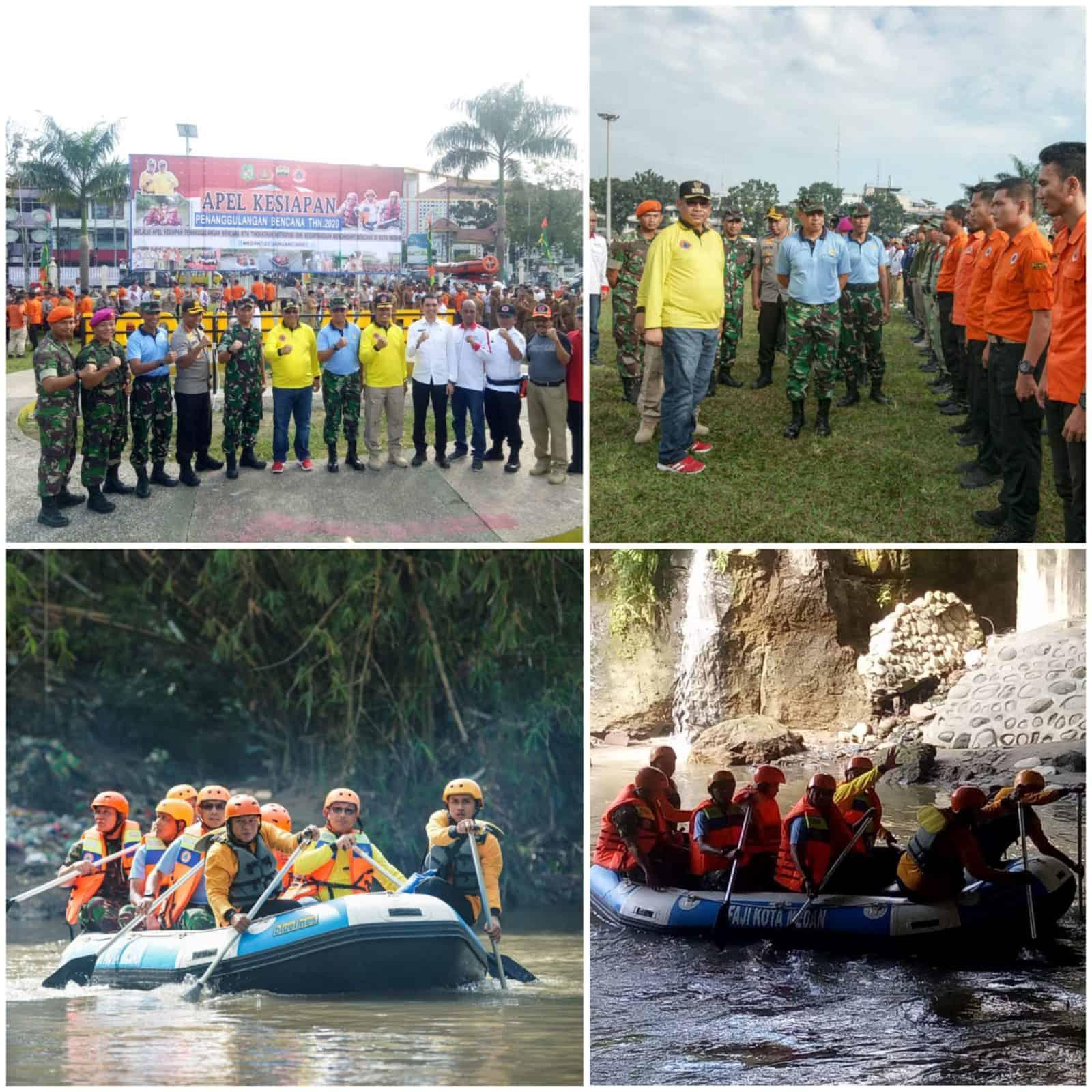 Danlanud Soewondo Hadiri Apel Siaga Dalam Rangka Kontijensi Bencana