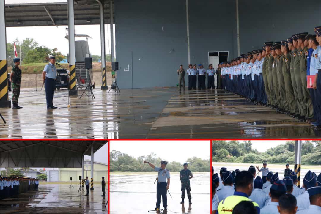 Danlanud Rsn, Sumpah Prajurit Dan 8 Wajib TNI Sebagai Jati Diri Seorang Prajurit