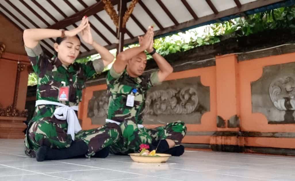 Dansatpom Lanud Rsn, Dengan Ibadah Kita Menjadi Lebih Fokus dalam bekerja