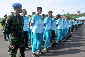 Danlanud Wiriadinata Membuka Kegiatan Super Camp SMP Al-Muttaqin Kota Tasikmalaya