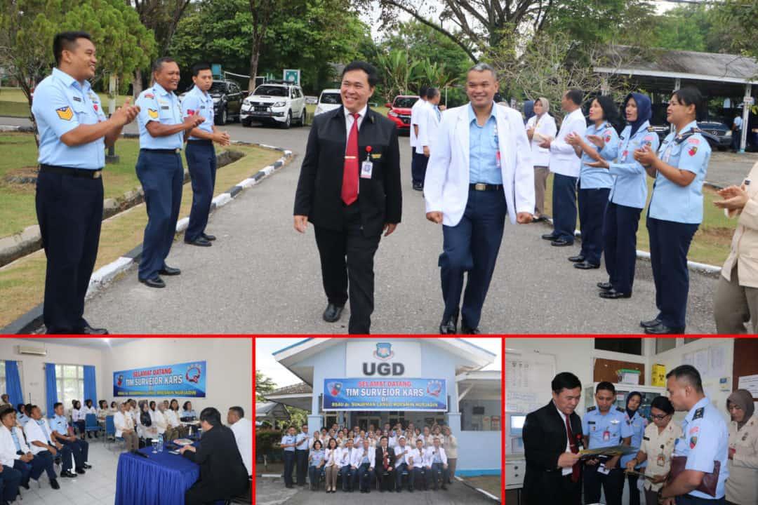 Tim Surveior KARS Tinjau RSAU dr. Sukirman Lanud Rsn