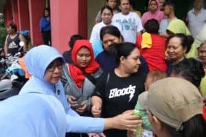 PIA Ardhya Garini Santuni Korban Banjir Jakarta.