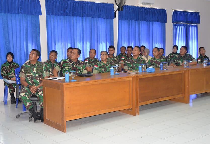 Kujungan Kerja Kadiskesau di Lanud El Tari Kupang