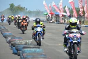 Danlanud Sim Hadiri Pembukaan Kejurda Open Race Seri-5