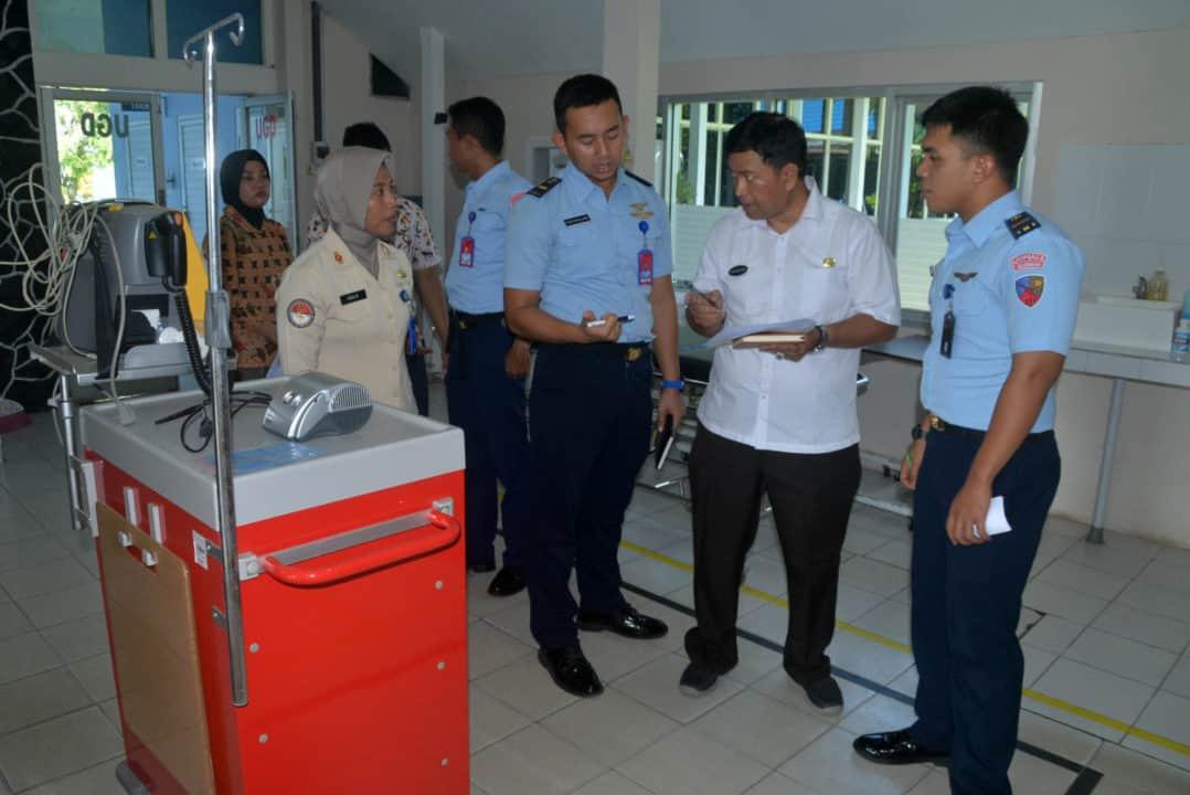 Dinas Kesehatan Provinsi Kalimantan Selatan dan Kota Banjarbaru Laksanakan Visitasi ke Rumah Sakit Sjamsudin Noor