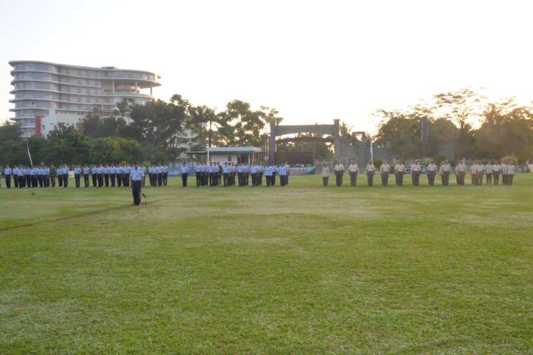 Aslog Kosekhanudnas III Pimpin Upacara Bendera di Makosekhanudnas III