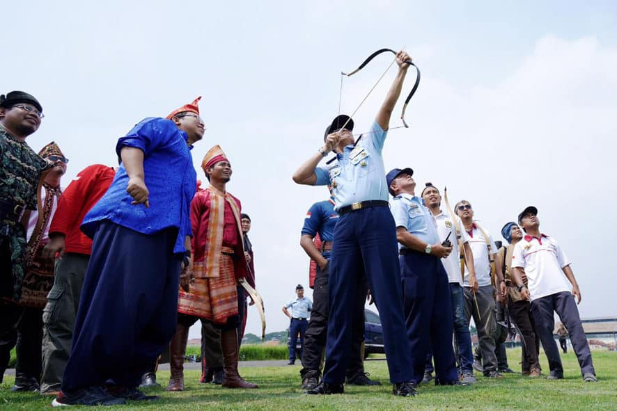 Pelatihan Menzil di Lanud Sulaiman